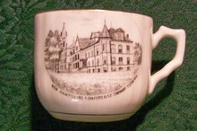 New Hampshire Conference Seminary Souvenir Cup Ca. 1900