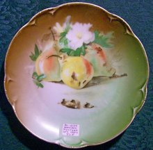 Hutschenreuther Bavarian Fruit Decorated Plate: