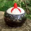 Shawnee Kenwood Lobster Ware Utility Jar/ Sugar w/Cover #907