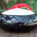 Shawnee Kenwood Lobster Ware Two-Handled Casserole w/Lid #992