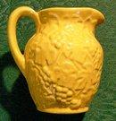 Uhl Pottery Grape Pitcher
