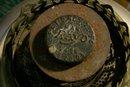 Rayo Perfection Kerosene Center-Draft Lamp Ca. 1906 Nickel-Plated Brass