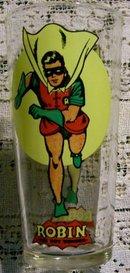 Pepsi/D.C. Comics. Promo Glass: Super Series 1976: Robin