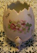 Ceramic Egg Vase, Circa 1950's