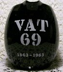 VAT 69 Whisky Advertising Ceramic Pitcher 100th Anniversary