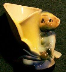 Shawnee Pixie/Elf Ceramic Planter 4