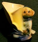 Shawnee Pixie/Elf Ceramic Planter 4
