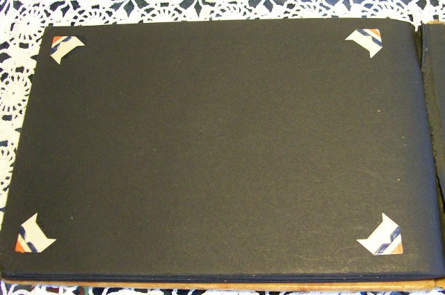 Painted Leather Souvenir Photo Album Pittsburgh PA Early 1900's