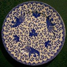 Phoenix Bird Dinner Plate