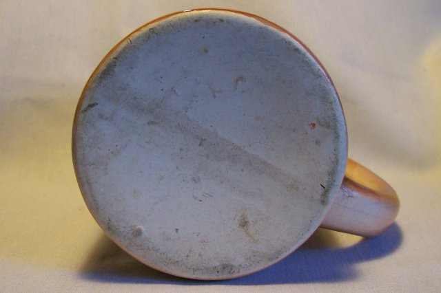 Hillbilly Souvenir Ceramic Mug Hot Springs Arkansas 1950s 4.25