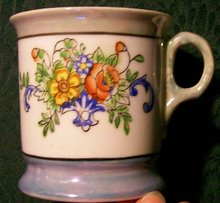 Lusterwae Shaving Mug:  Early 1900's