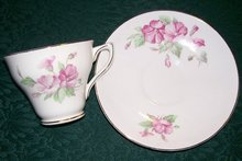 Ferneyhough Longton Hall Works Cup & Saucer