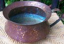 Dovetailed Copper Chamber Pot Hand-Wrought 7.5