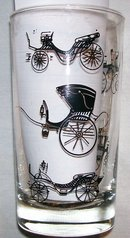 Libbey Tumbler Collection: Antique Carriages
