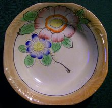 Japanese Lusterware Bowl: 1920's-30's