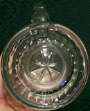 German Crystal Stein with Lid: Engraved