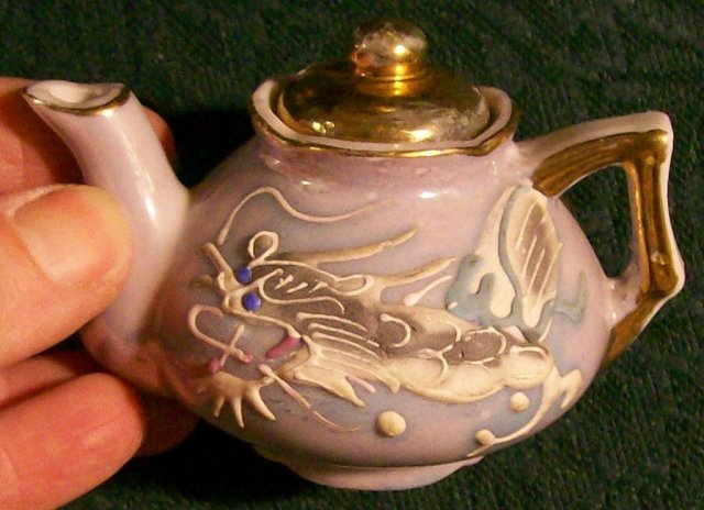 Dragonware Toy Teapot