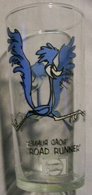 Pepsi/Warner Bros. Tumbler: Federal Glass:  Road Runner