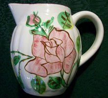 Blue Ridge China Pitcher: