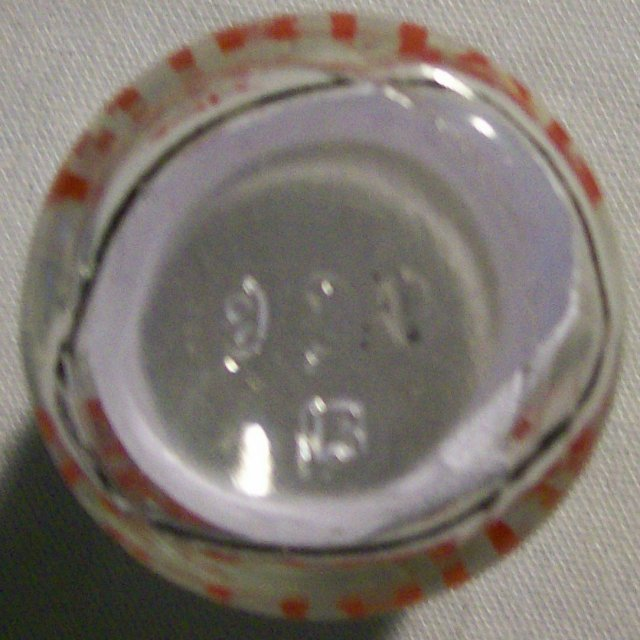 Puritan Dairy Advertising Glass Creamer Amboy NJ 1950s 2