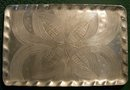 Canterbury Arts Hand-Wrought Aluminum Tray Celtic Knot 1950s 9.5
