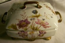 Gutherz Limoges Covered Bowl 1880's-90's