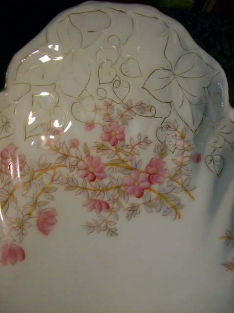 Marx & Gutherz Carlsbad Porcelain Console Bowl:  Late 1890's