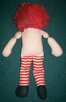 Raggedy Andy Cloth Doll by Knickerbocker 1950's-60's 15