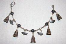 Siam Sterling Bracelet:  Bells & Fans