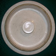 Stoneware Crock Lid #5:  Robinson Ransbottom/Crown Brand