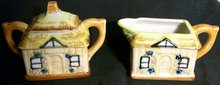 Cottage Ware Cream & Sugar Set