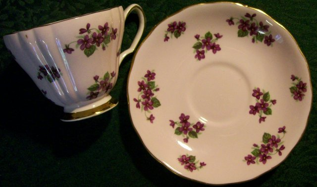 Ridgway/Colclough Bone China Cup & Saucer