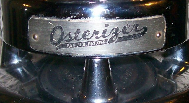 Vintage 1950's Osterizer