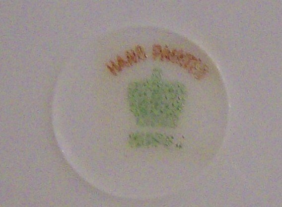 Nagoya Seito Sho Nippon Hand-painted Saucer Set/4 with Bird