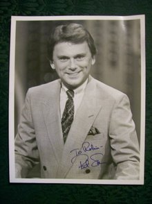 Pat Sajak Autographed Photo 8