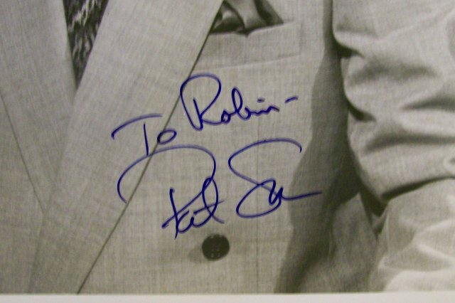 Pat Sajak Autographed Photo 8