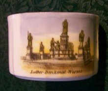 Souvenir Cup:  Luther-Denkmal-Worms, Germany