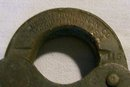 Bronze Padlock with Chain:  Wilson Bohannan