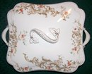 Royal Vitreous Ceramic Covered Vegetable Dish Maddock & Sons England #112 1880-96