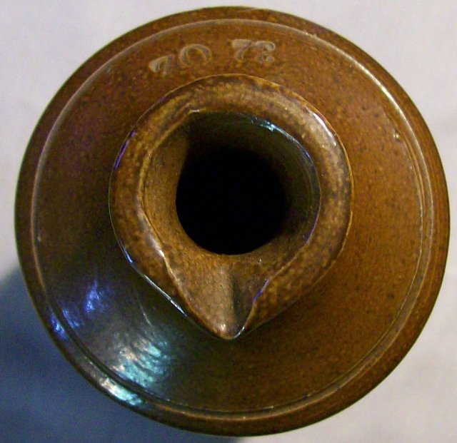 Bourne/Denby Stoneware Master Ink Bottle Quart Ca. 1862