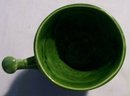 McCoy Pottery Coricidin Pharmacy Advertising Mug Green