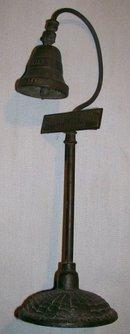 Souvenir Bronze Bell El Camino Real Guide Post California 1915 Forbes