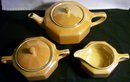 Steubenville Luster Tea Set:  Art Deco