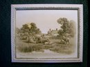 Albert Bowers Framed Print Pair:  Late 1800's