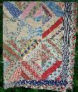 Random Pattern Quilt 1930's-50's