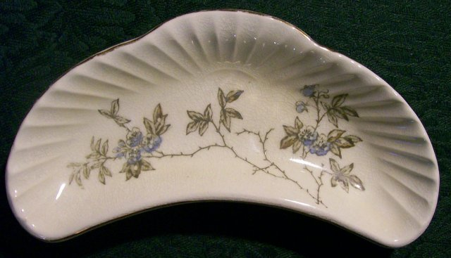 Dale & Davis Ceramic Bone Dish Prospect Hill Trenton New Jersey 1880-95