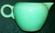 Fiesta Ceramic Pitcher 2 Pint Jug Original Light Green 1930's