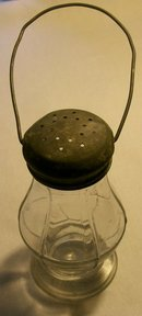 Skater's Lantern Candy Container:  Late 1800's