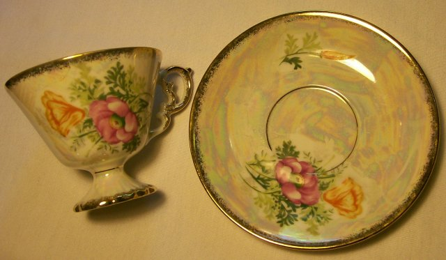 Fancy Cup & Saucer:
