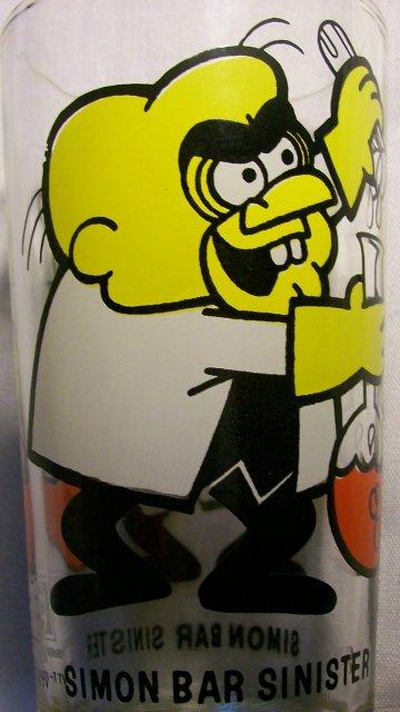 Pepsi/Leonardo TV Collector's Glass:  Simon Bar Sinister